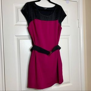 Like New Express Belted Dress